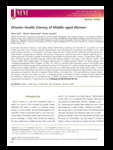 Disaster Health Literacy of Middle-aged Women