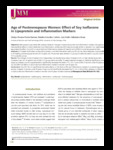 Age of Postmenopause Women: Effect of Soy Isoflavone in Lipoprotein and Inflammation Markers
