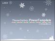 겨울의 눈꽃송이 템플릿_애니형_367TGp