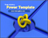 3D 매듭모양 블루 템플릿_애니형_3d_kno