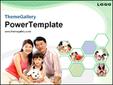 아시아 가족의 모습 템플릿_애니형_620TGp