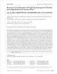 AgX (Ag-함침 X 제올라이트)에 의한 고방사성해수폐액으로부터 요오드(I)의 흡착 제거 (Removal of I by Adsorption with AgX (Ag-impregnated X Zeolite) from ..