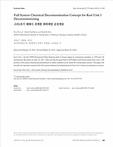 고리1호기 해체시 전계통 화학제염 운전개념 (Full System Chemical Decontamination Concept for Kori Unit 1 Decommissioning)