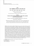 정지 이탈혈흔의 최대 분산 각도에 관한 연구