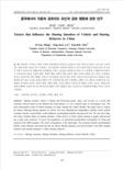 중국에서의 자동차 공유의도 요인과 공유 행동에 관한 연구 (Factors that Influence the Sharing Intention of Vehicle and Sharing Behavior in China)