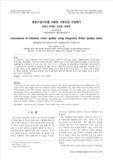 통합수질지수를 이용한 지류지천 수질평가 (Assessment of tributary water quality using integrated Water Quality Index)