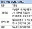중국 주요 MVNO 사업자