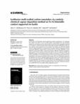 Synthesize multi-walled carbon nanotubes via catalytic chemical vapour deposition method on Fe-Ni bimetallic catalyst su..