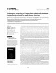 Tribological properties of carbon fiber-reinforced aluminum composites processed by spark plasma sintering
