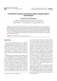 Elastomers and Composites : Fire Resistance Properties of Chloroprene Rubber containing Inorga..