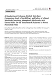 A Randomized, Evaluator-Blinded, Split-Face Comparison Study of the Efficacy and Safety of a N..