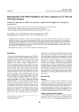 Determination of the PDE-5 Inhibitors and Their Analogues by GC-MS and TMS Derivatization
