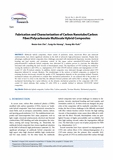 Fabrication and Characterization of Carbon Nanotube/Carbon Fiber/Polycarbonate Multiscale Hybrid Composites