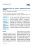 Production of Methanol from Methane by Encapsulated Methylosinus sporium