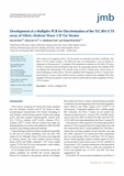 Development of a Multiplex PCR for Discrimination of the TLC:RS1:CTX array of Vibrio cholerae Wave 3 El Tor Strains