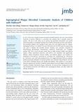 Supragingival Plaque Microbial Community Analysis of Children with Halitosis<sup>s</sup>