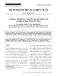 연결 강판 형상에 따른 모듈러 유닛 간 접합부의 거동 비교 (Comparison of Behavior of Connections between Modular Units according to Shape of Conn..