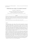 벌점화 추정기법을 이용한 평균에 대한 모니터링 (Monitoring mean change via penalized estimation)