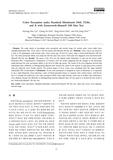FM 100 색상검사를 이용한 표준광원 D65, TL84, A에서의 색채지각 (Color Perception under Standard Illuminants D65, TL84, and A with Farnsworth..