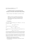 A GENERALIZATION OF THE EXPONENTIAL INTEGRAL AND SOME ASSOCIATED INEQUALITIES