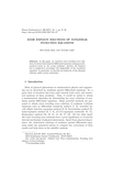 SOME EXPLICIT SOLUTIONS OF NONLINEAR EVOLUTION EQUATIONS