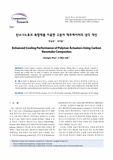 탄소나노튜브 복합재를 이용한 고분자 액추에이터의 냉각 개선 (Enhanced Cooling Performance of Polymer Actuators Using Carbon Nanotube Composites) (E..