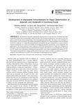 Development of Disposable Immunosensors for Rapid Determination of Sildenafil and Vardenafil in Functional Foods