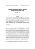 The restricted maximum likelihood estimation of a censored regression model