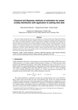 Classical and Bayesian methods of estimation for power Lindley distribution with application to waiting time data