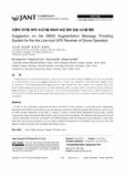 드론의 저가형 GPS 수신기용 SBAS 보강 정보 전송 시스템 제안 (Suggestion on the SBAS Augmentation Message Providing System for the the Low-cost..