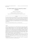 이상치에 근거한 선택적 실현변동성 예측 방법 (An outlier-adaptive forecast method for realized volatilities) (An outlier-adaptive forecast m..