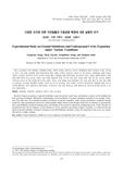 다양한 조건에 따른 지반함몰과 지중공동 확장에 대한 실험적 연구 (Experimental Study on Ground Subsidence and Underground Cavity Expansion under Vari..