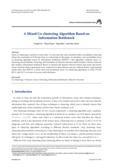 A Mixed Co-clustering Algorithm Based on Information Bottleneck