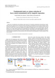 Fundamental study on volume reduction of heavy metal-contaminated soil by magnetic separation