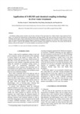 Application of S-HGMS and chemical coupling technology in river water treatment