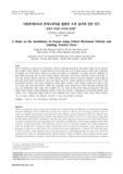 이동한계유속과 한계소류력을 활용한 수제 설치에 관한 연구 (A Study on the Installation of Groyne using Critical Movement Velocity and Limiting Tra..